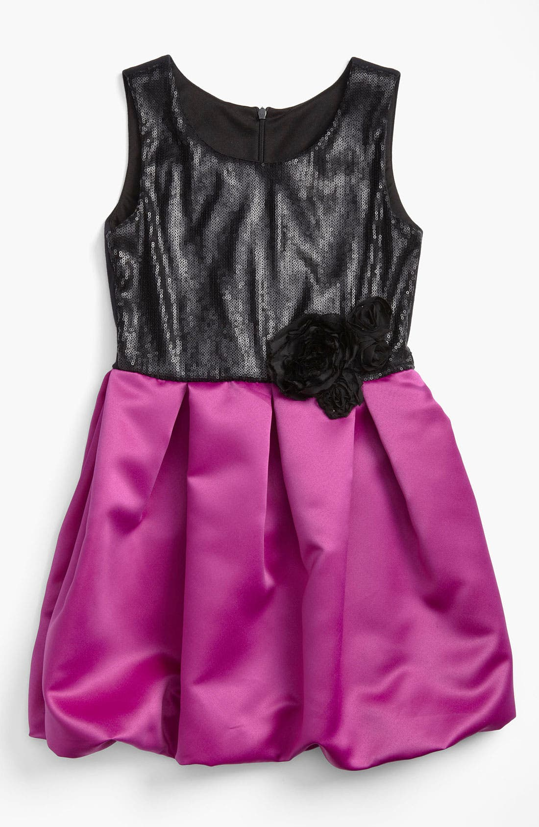 Main Image - Zoe Ltd Sequin Bubble Dress (Big Girls)