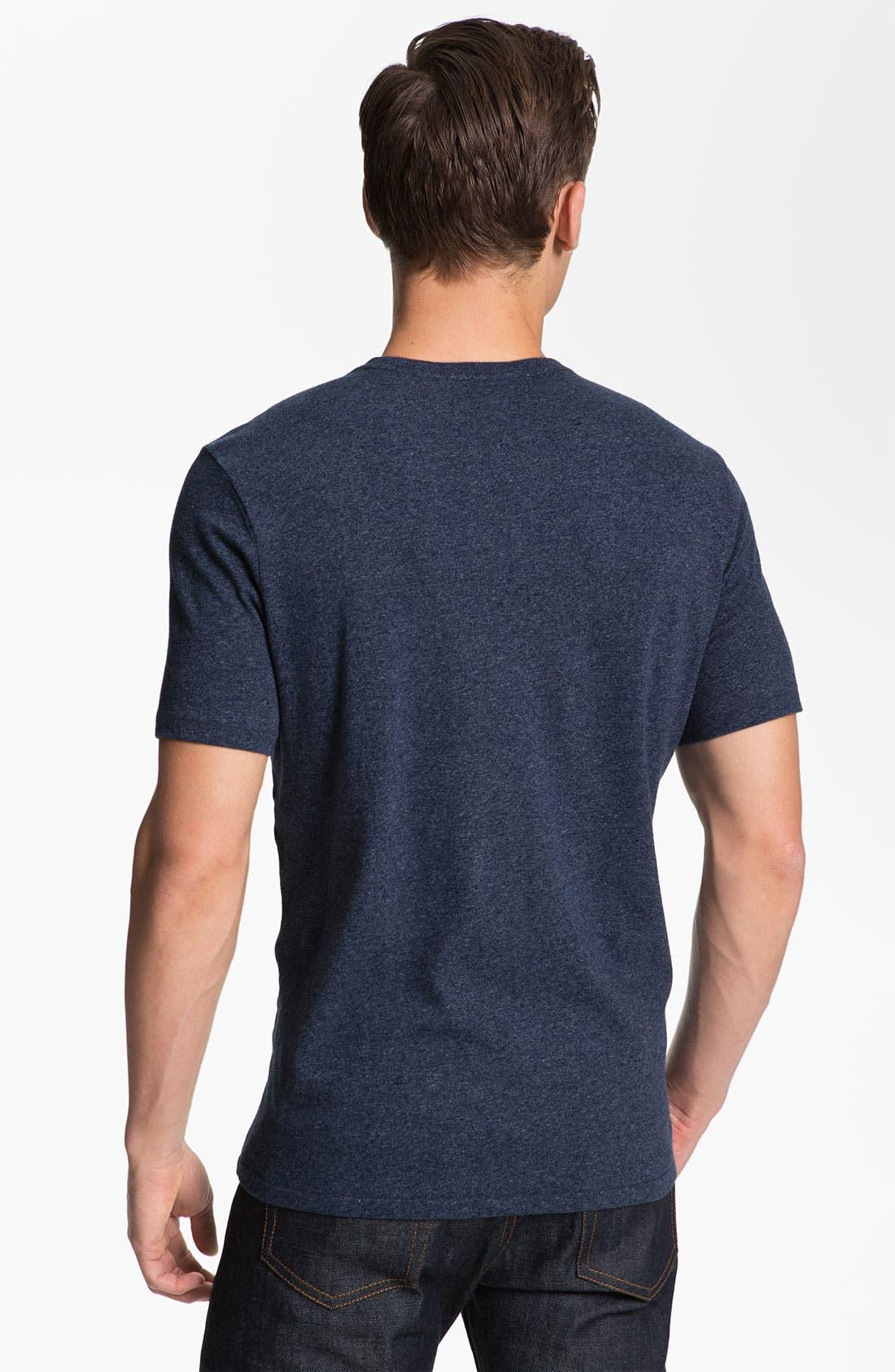 Alternate Image 2  - Jack Spade 'Stark' V-Neck T-Shirt