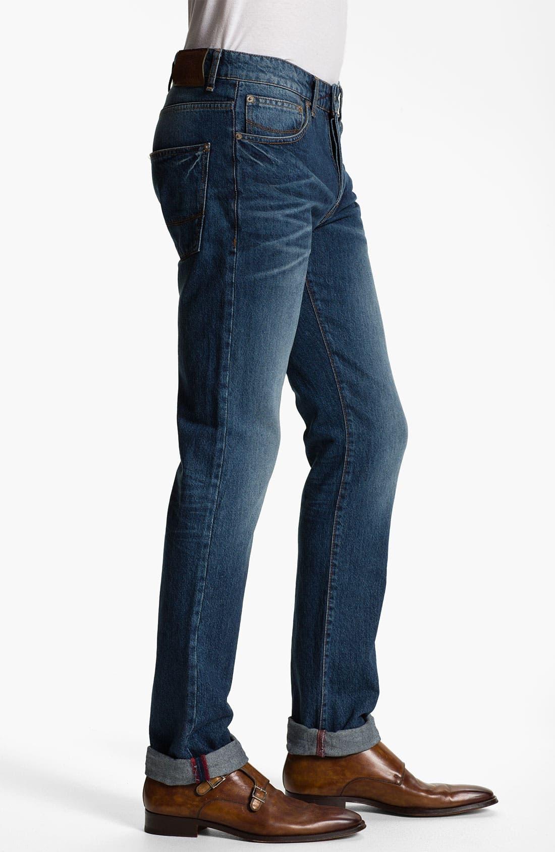 Alternate Image 3  - Ted Baker London 'Slystee' Straight Leg Jeans (Light)