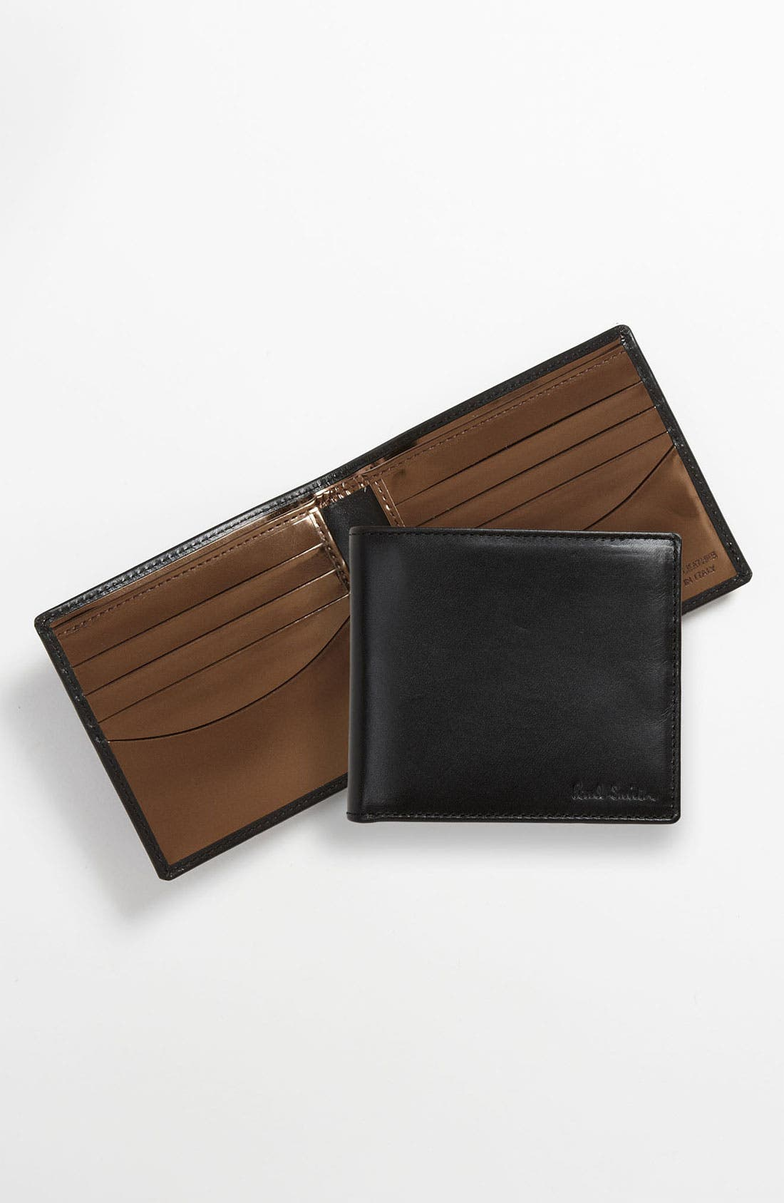 Main Image - Paul Smith Accessories Calfskin Leather Billfold Wallet