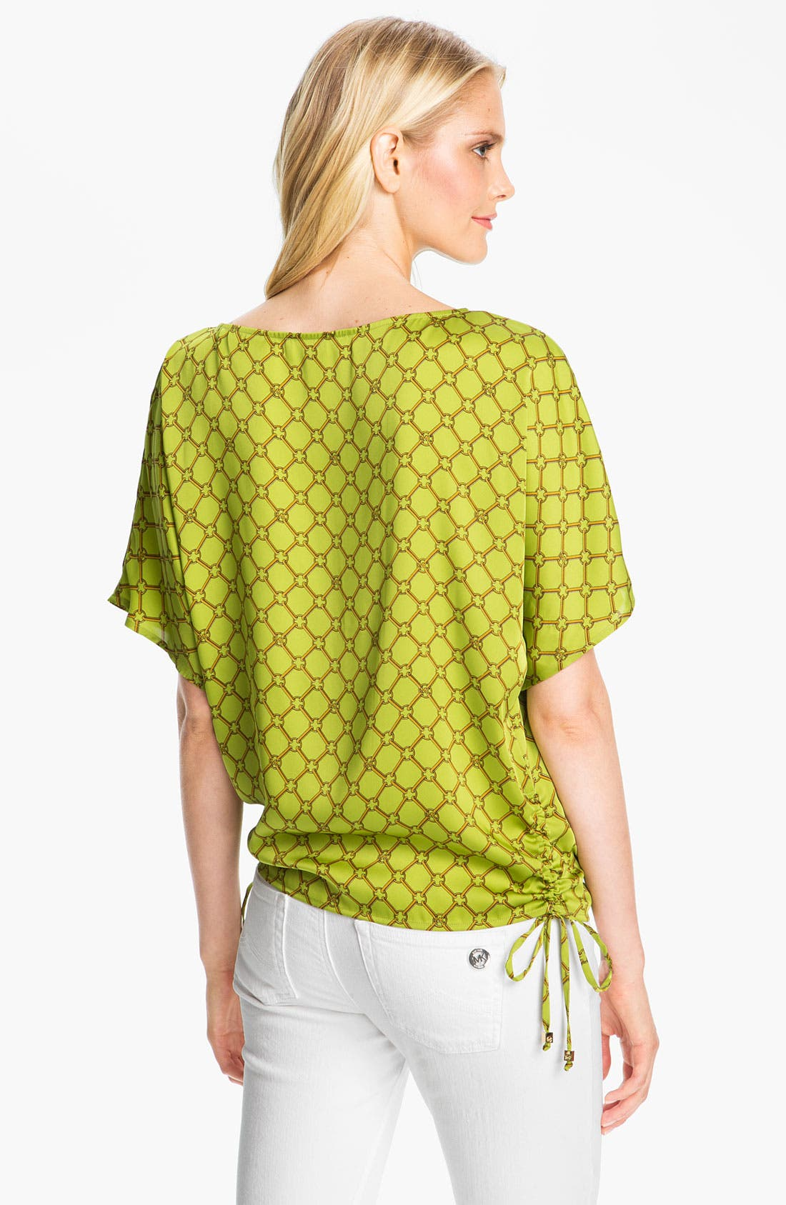 Alternate Image 2  - MICHAEL Michael Kors Side Tie Kimono Blouse