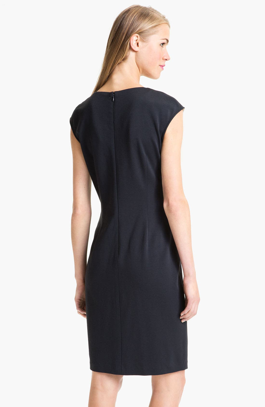 Alternate Image 2  - Adrianna Papell Colorblock Sheath Dress