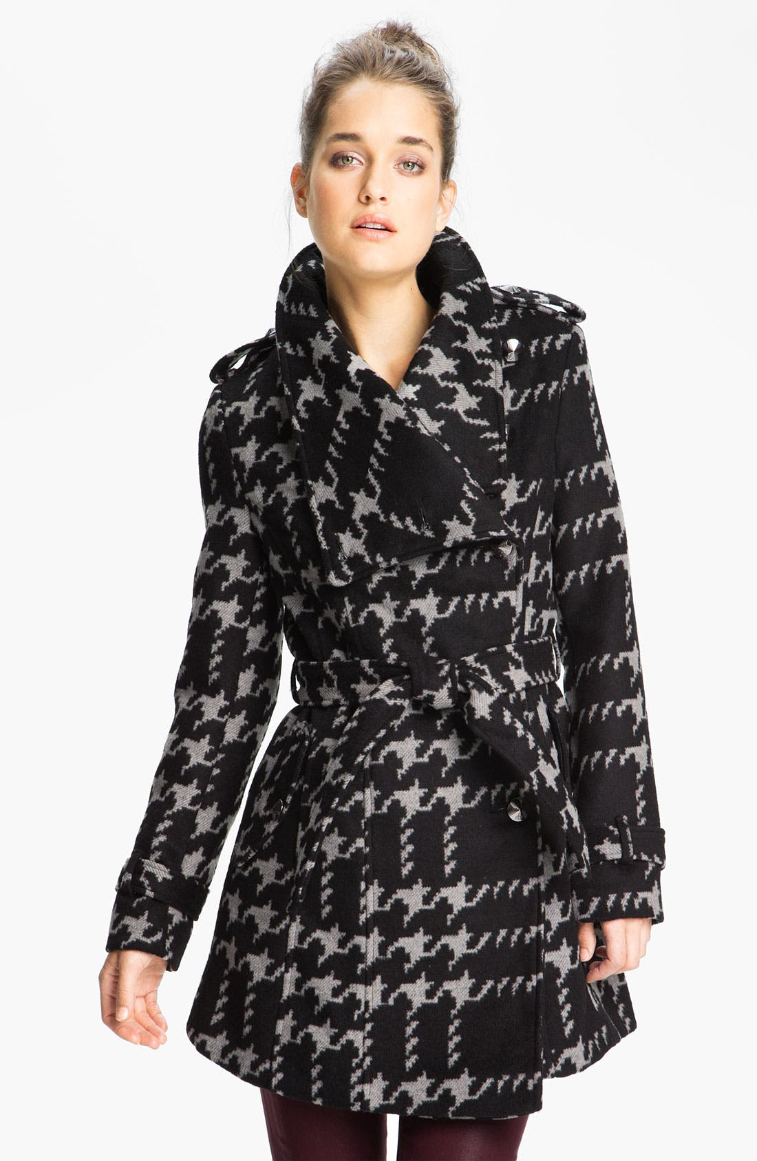 Alternate Image 1 Selected - Sam Edelman Wing Collar Wrap Jacket