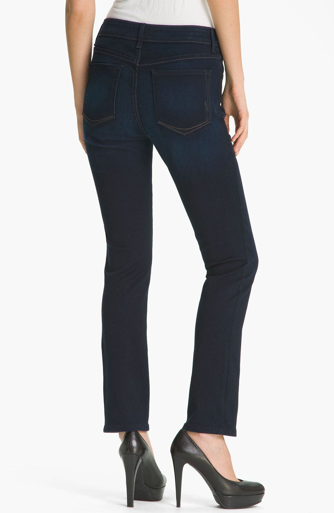 Alternate Image 2  - NYDJ 'Jade' Denim Leggings (Petite)