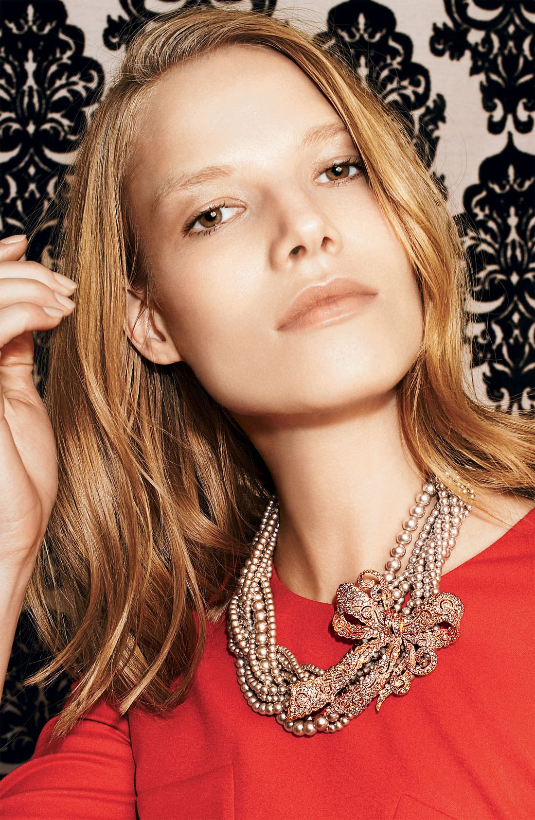 Alternate Image 2  - Givenchy Faux Pearl Multistrand Necklace
