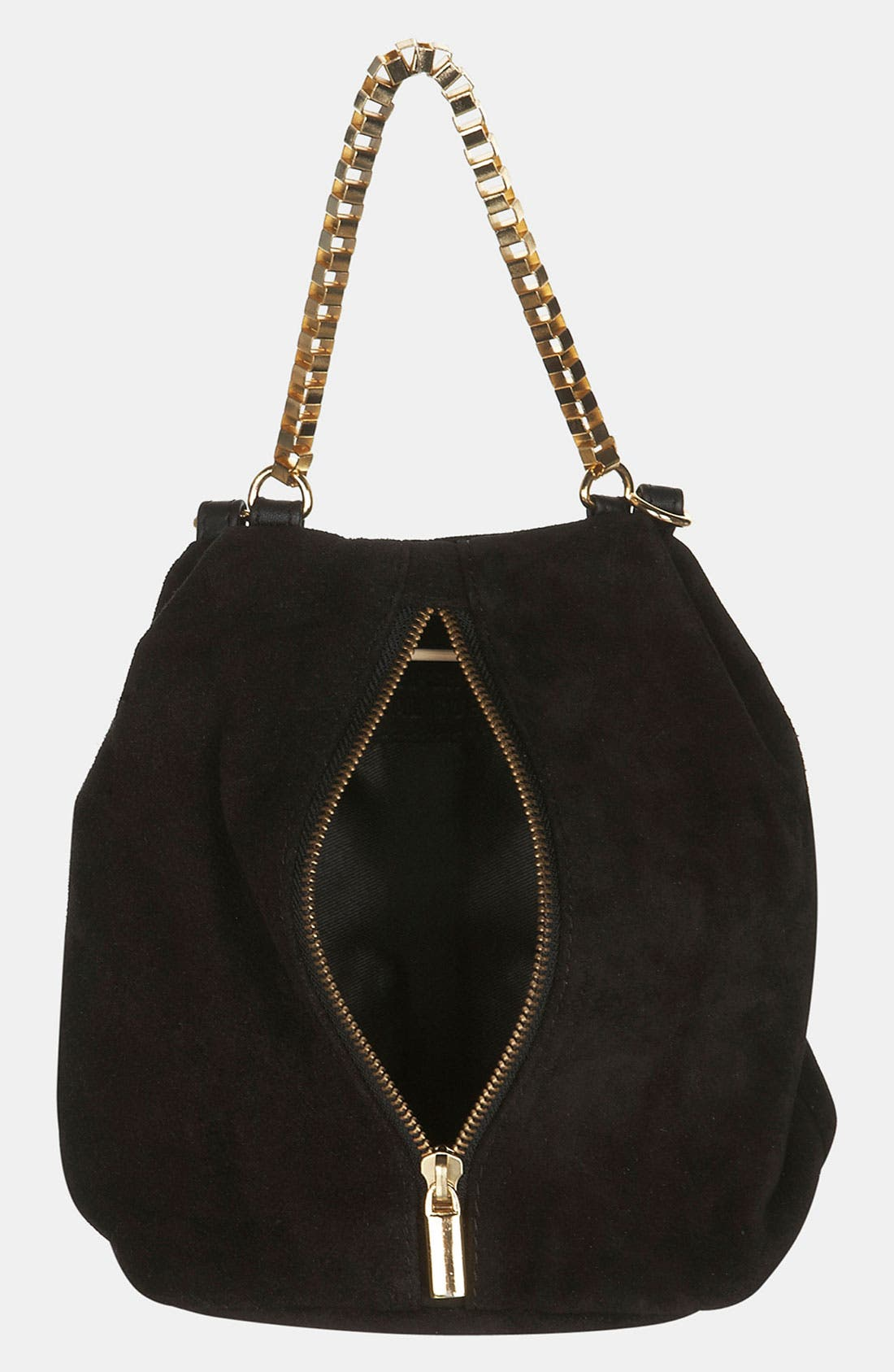 Alternate Image 3  - Topshop Box Chain Suede Bag