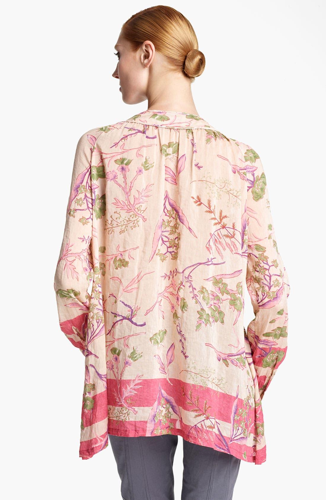 Alternate Image 2  - Donna Karan Collection Floral Print Blouse