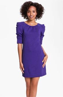 Main Image - Jessica Simpson Puff Sleeve Ponte Dress