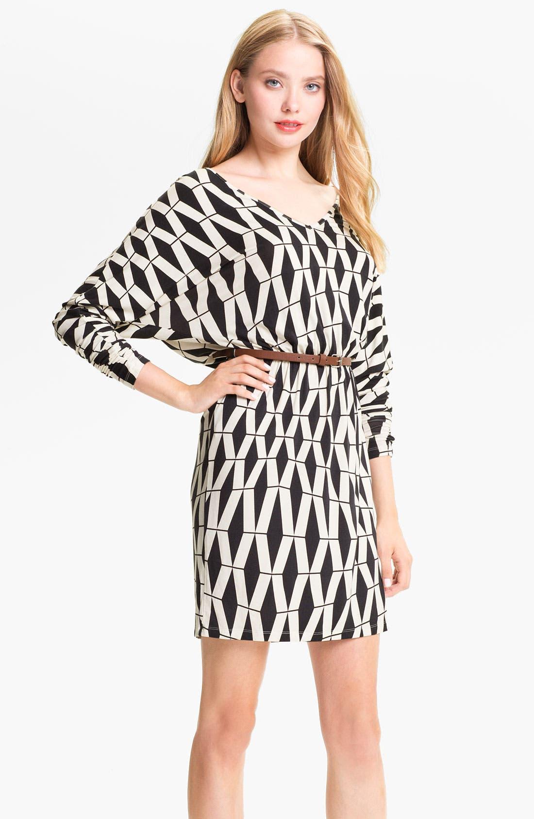Alternate Image 1 Selected - Tart 'Liv' Graphic Print Dolman Sleeve Dress