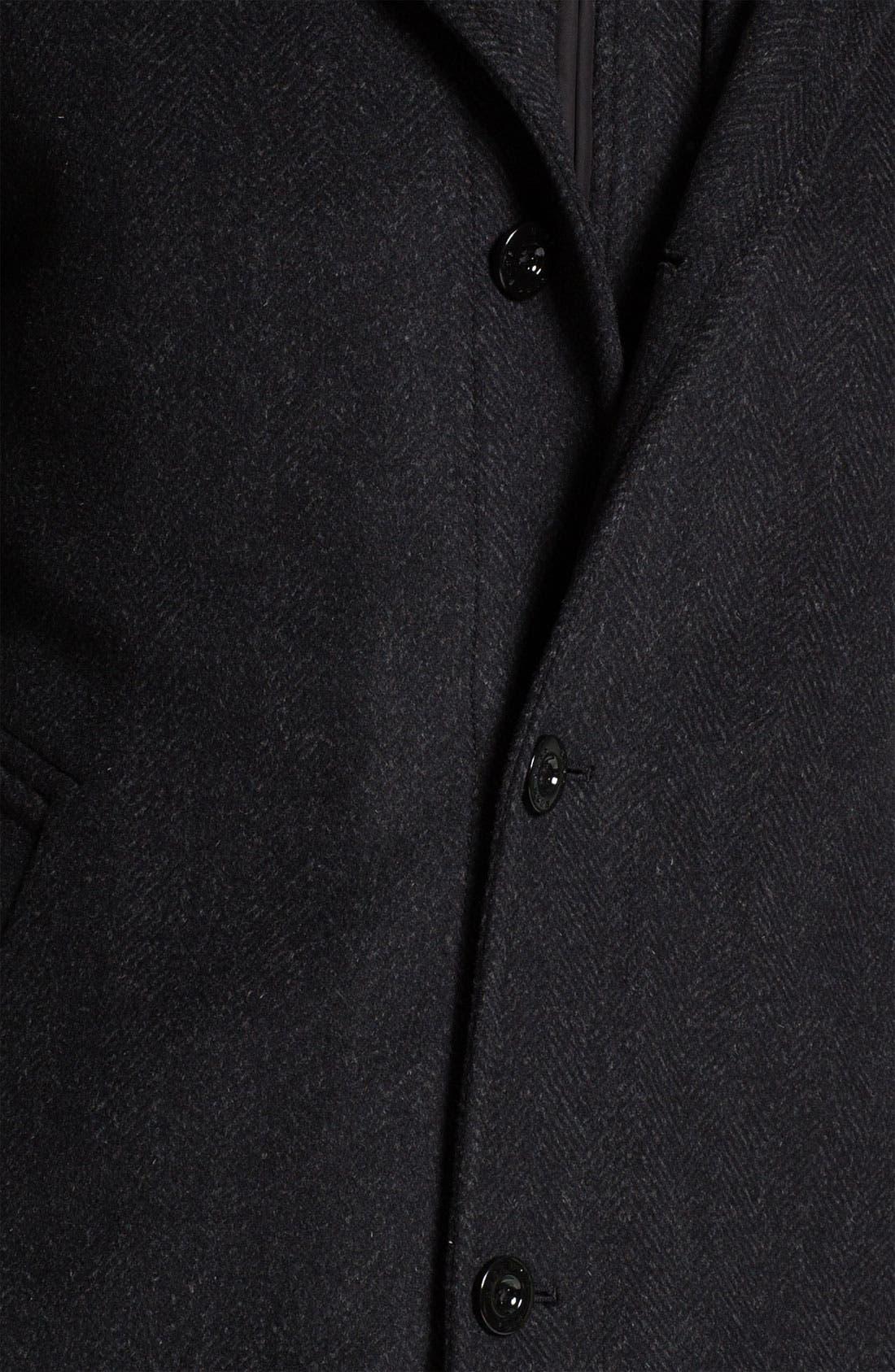 Alternate Image 3  - BOSS HUGO BOSS 'Coxtan' Wool & Cashmere Coat
