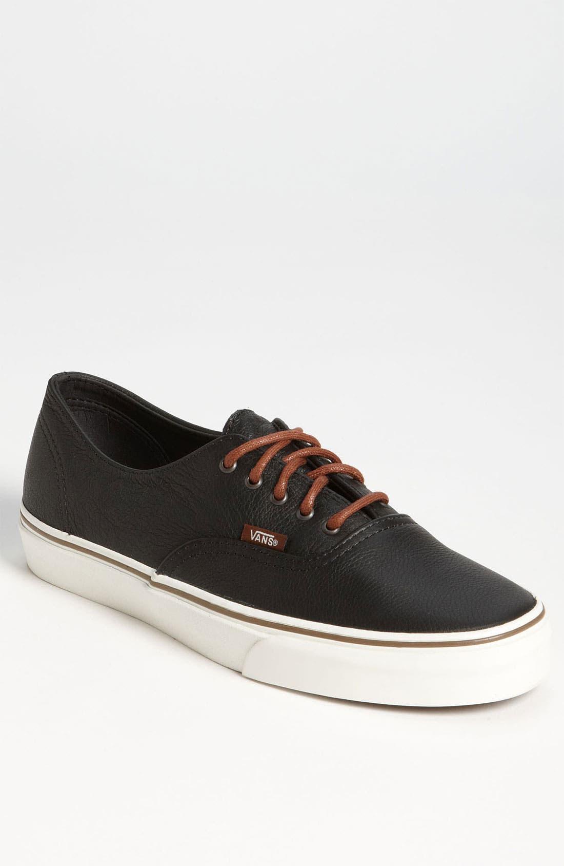 Alternate Image 1 Selected - Vans 'Cali - Authentic Decon' Leather Sneaker (Men)