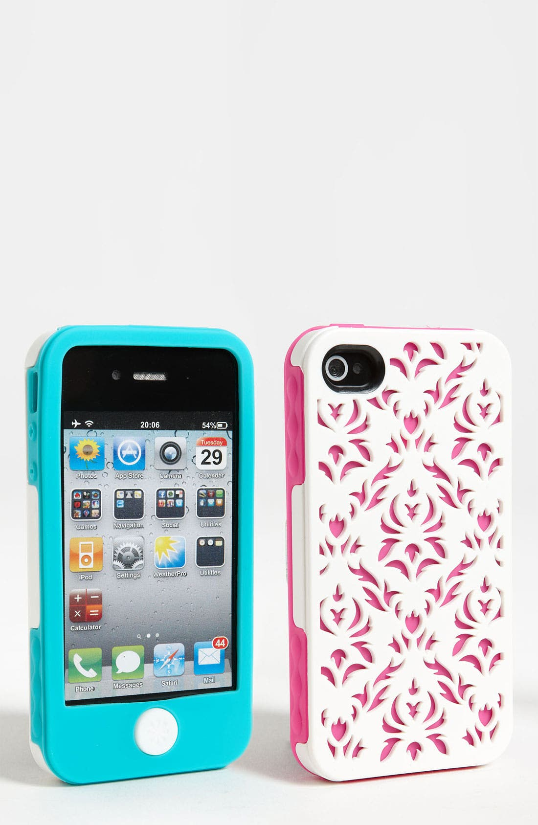 Alternate Image 1 Selected - Tech Candy 'Venice' iPhone 4 & 4S Three Piece Case Set