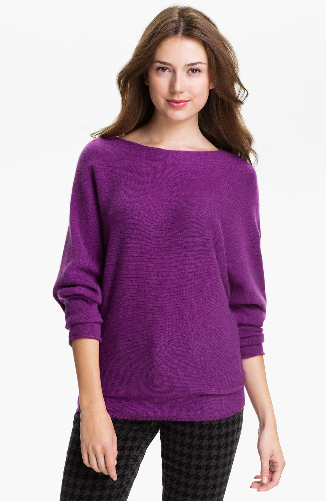 Alternate Image 1 Selected - Only Mine Dolman Sleeve Cashmere Sweater