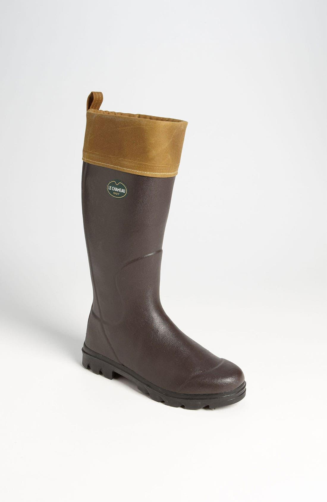 Alternate Image 1 Selected - Le Chameau 'Filson Anjou' Rain Boot (Online Only)