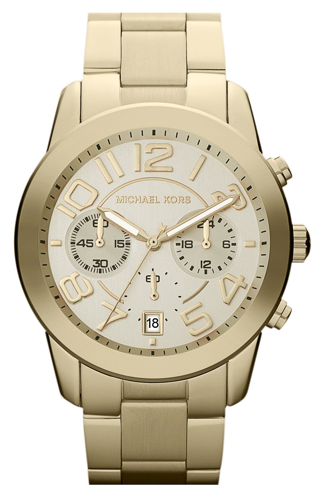 Main Image - Michael Kors 'Mercer' Chronograph Bracelet Watch, 41mm