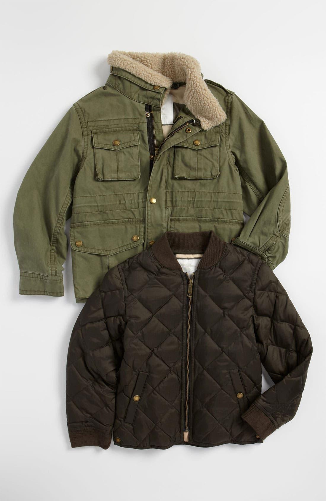 Alternate Image 2  - Burberry Layered Jacket (Little Boys)