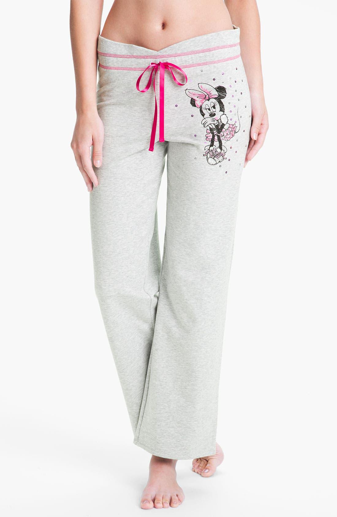 Main Image - Betsey Johnson 'Minnie' Fleece Pants