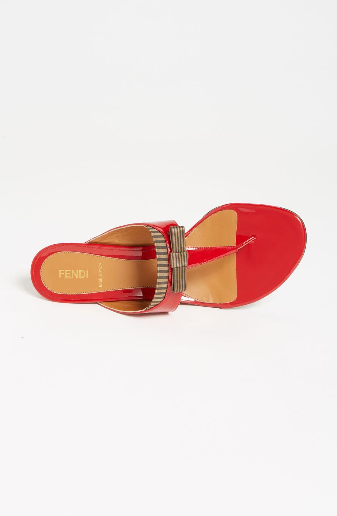 Alternate Image 3  - Fendi 'Charleston' Thong Sandal