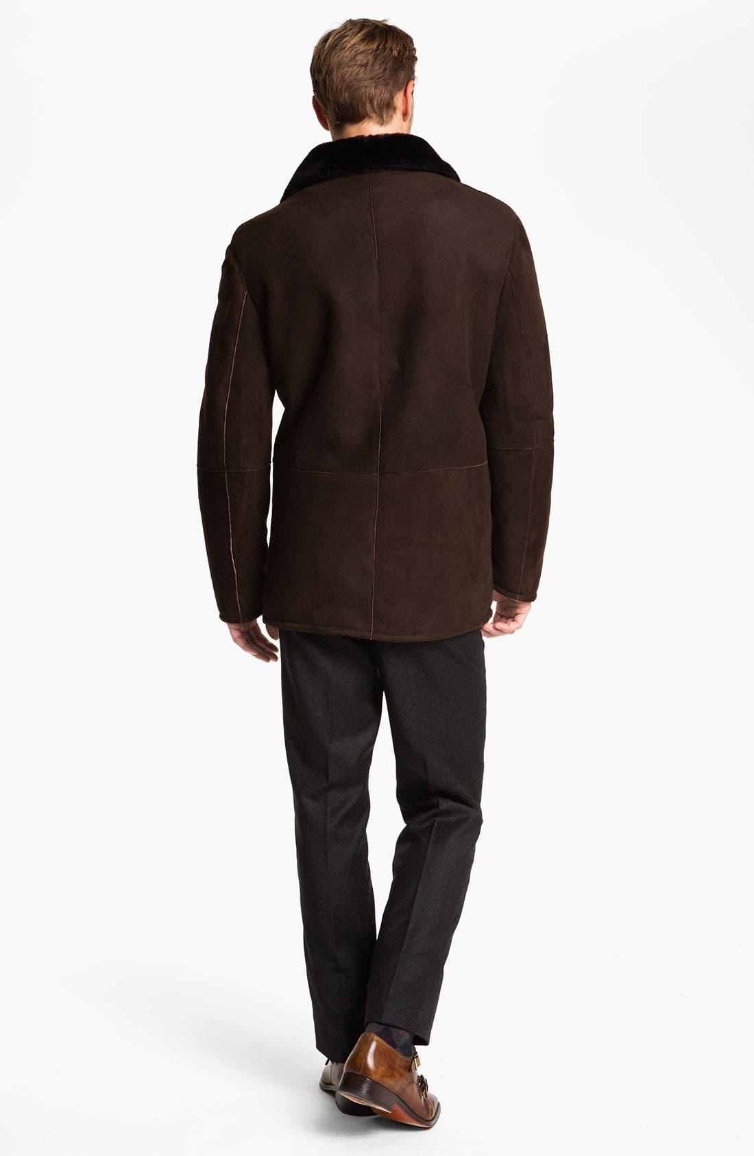 Alternate Image 5  - Orlandini Wool & Angora Mock Neck Sweater