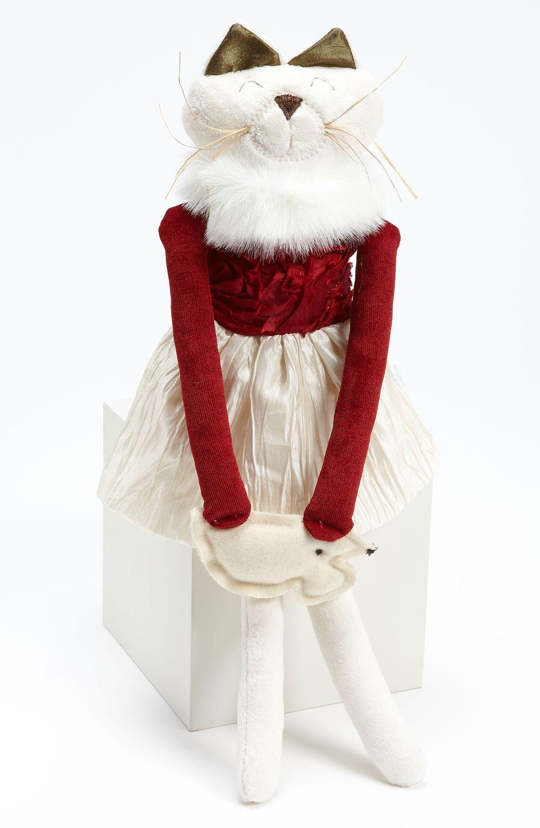 Alternate Image 1 Selected - Woof & Poof Christmas Cat Door Hanger