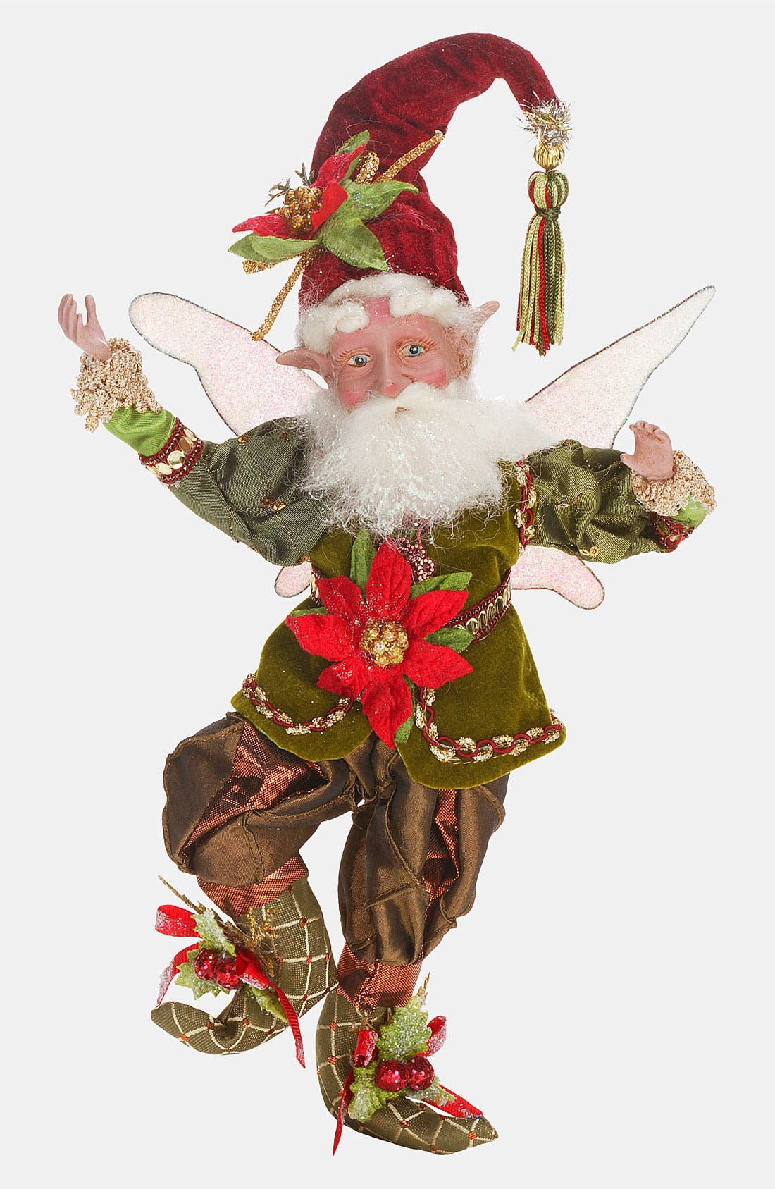 Main Image - Mark Roberts 'Poinsettia Fairy' Figurine (Limited Edition)