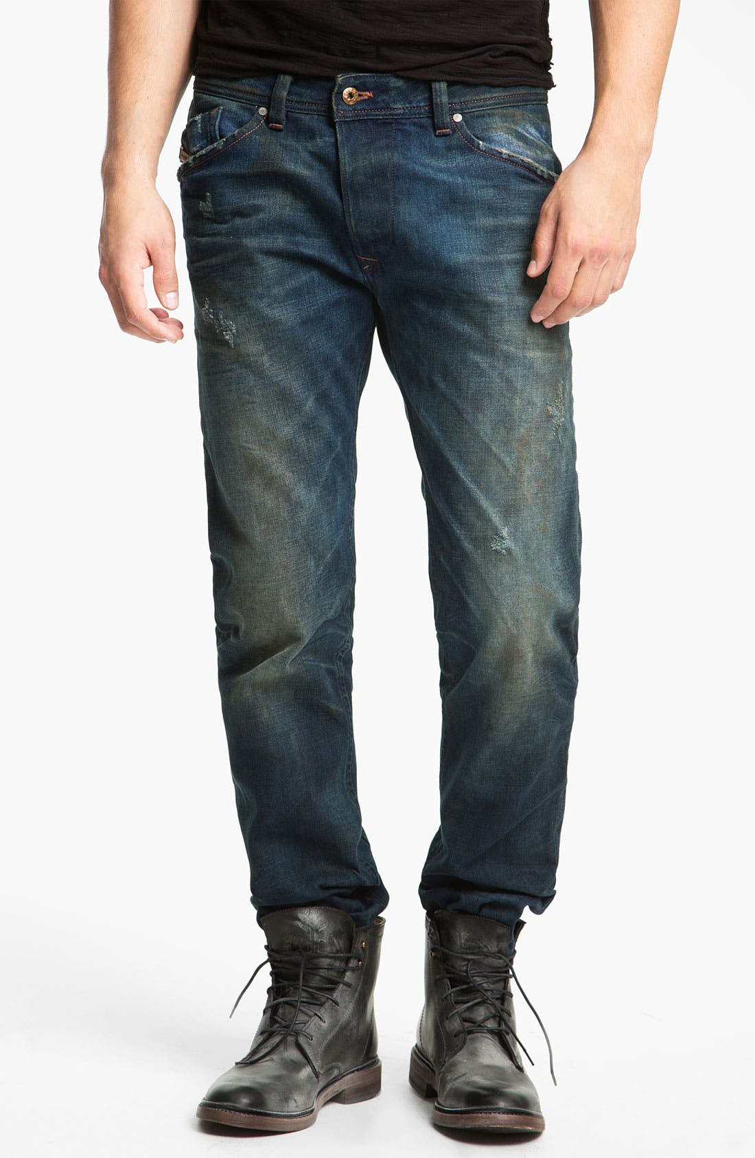Alternate Image 2  - DIESEL® 'Darron' Slim Tapered Leg Jeans (0075L)