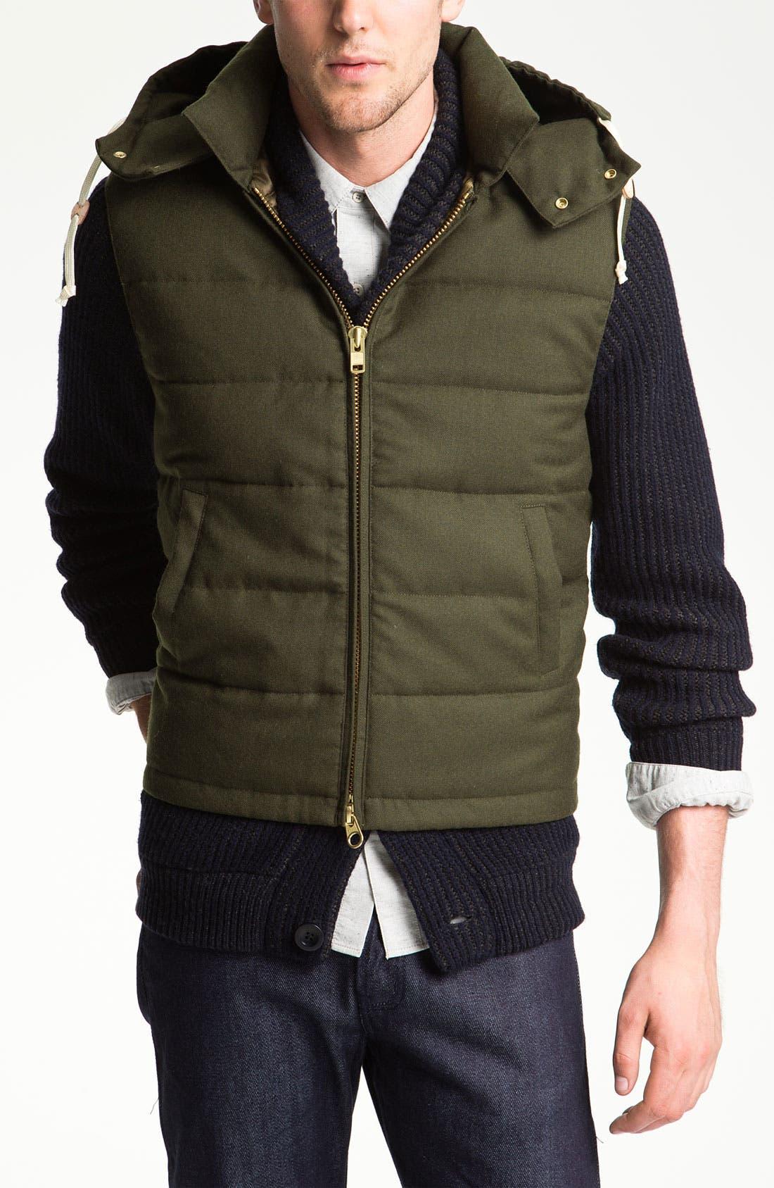 Alternate Image 1 Selected - Gant Rugger Down Puffer Vest