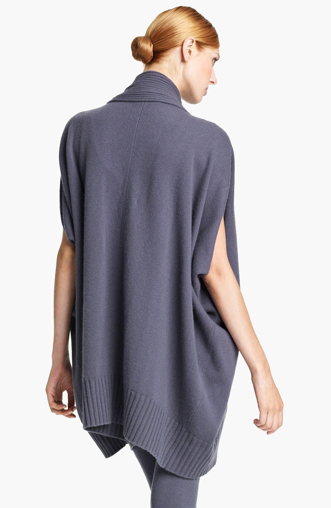 Alternate Image 2  - Donna Karan Collection Draped Cashmere Cardigan