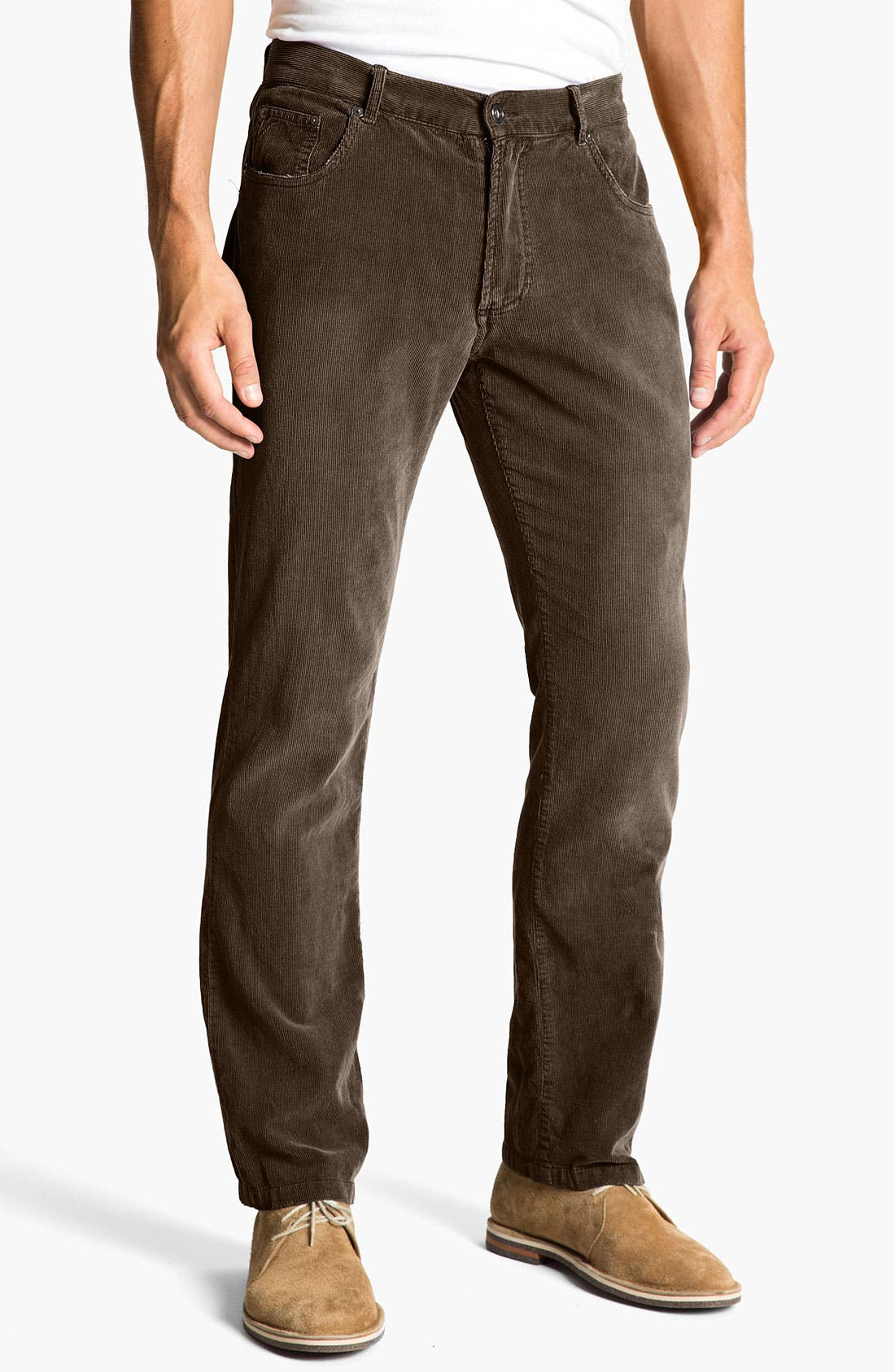 Alternate Image 2  - Just A Cheap Shirt 'Adam' Straight Leg Corduroy Pants