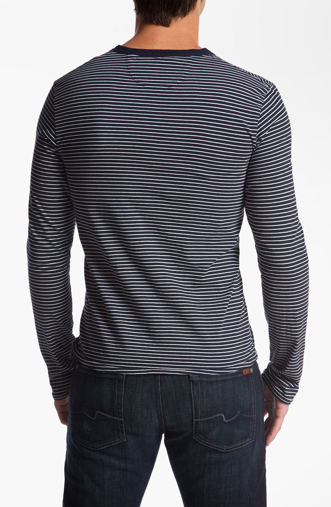 Alternate Image 2  - Scotch & Soda Slub Knit Jersey Henley
