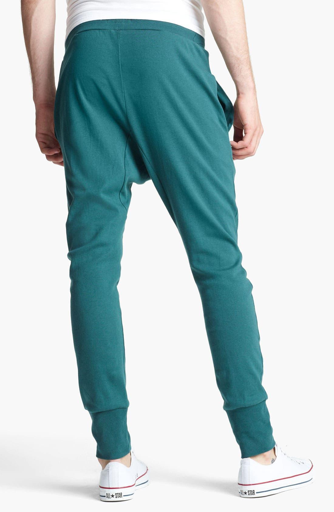 Alternate Image 2  - Topman Jersey Cotton Athletic Pants