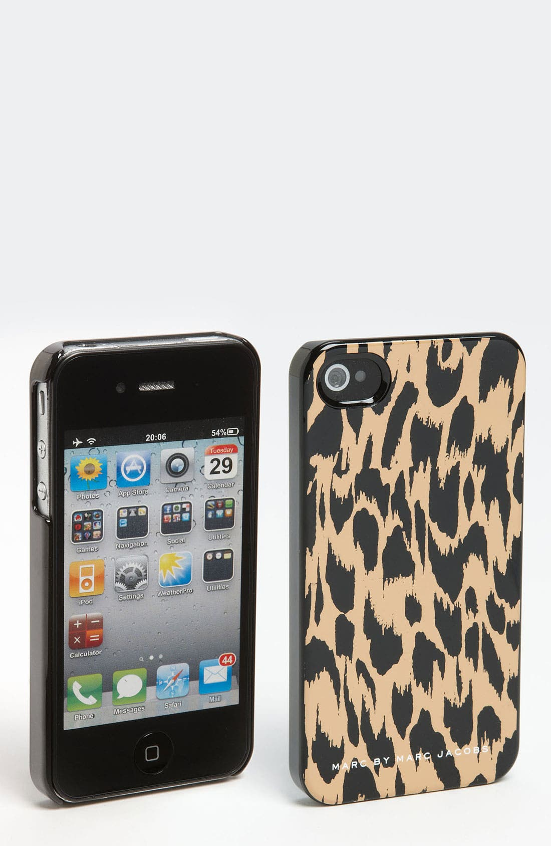 Alternate Image 1 Selected - MARC BY MARC JACOBS 'Graphic Animal' iPhone 4 & 4S Case