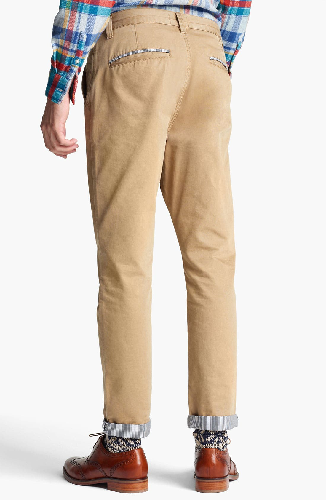 Alternate Image 2  - Topman Carrot Skinny Fit Chinos