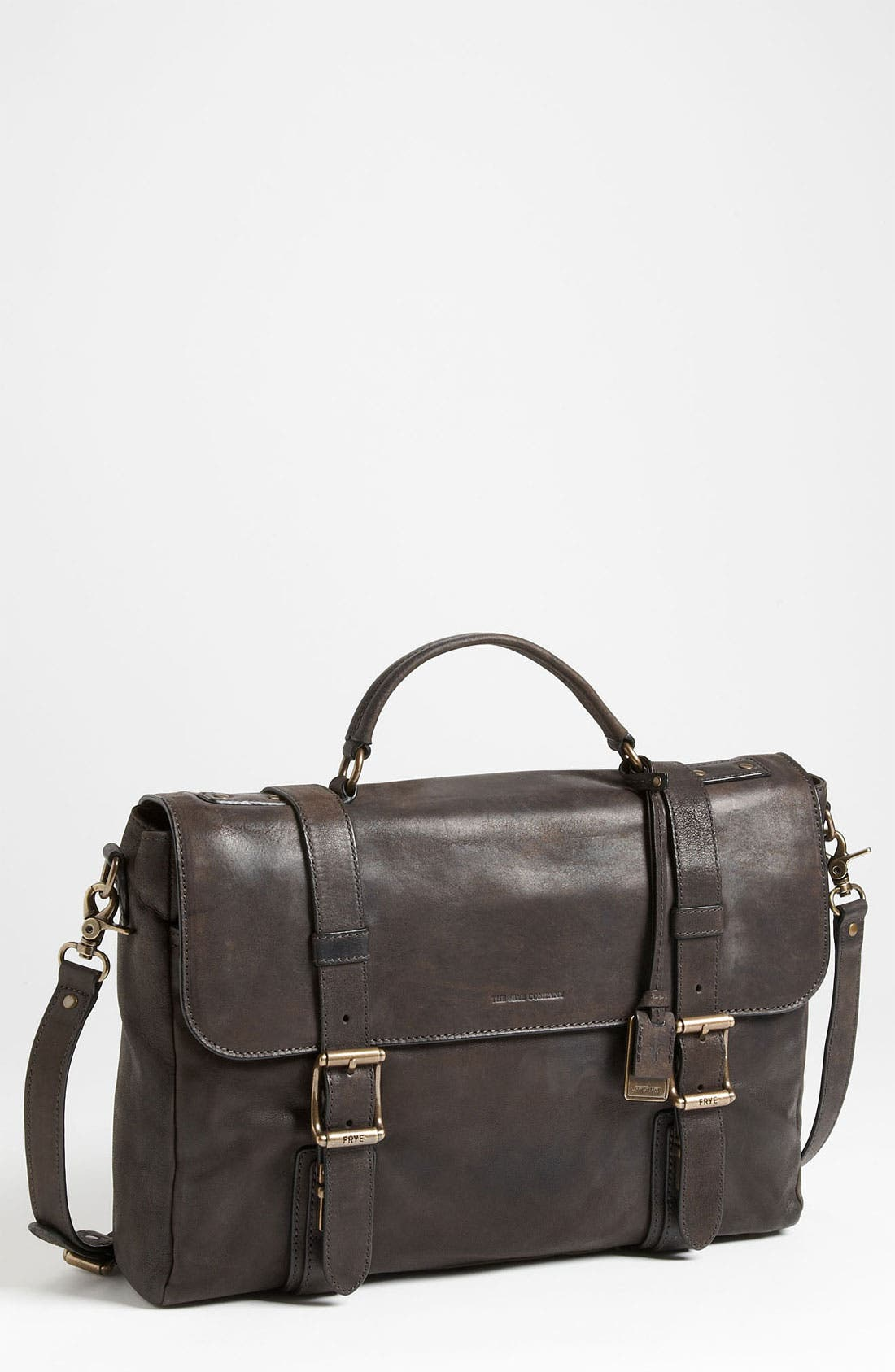 Main Image - Frye 'Logan' Leather Flap Briefcase