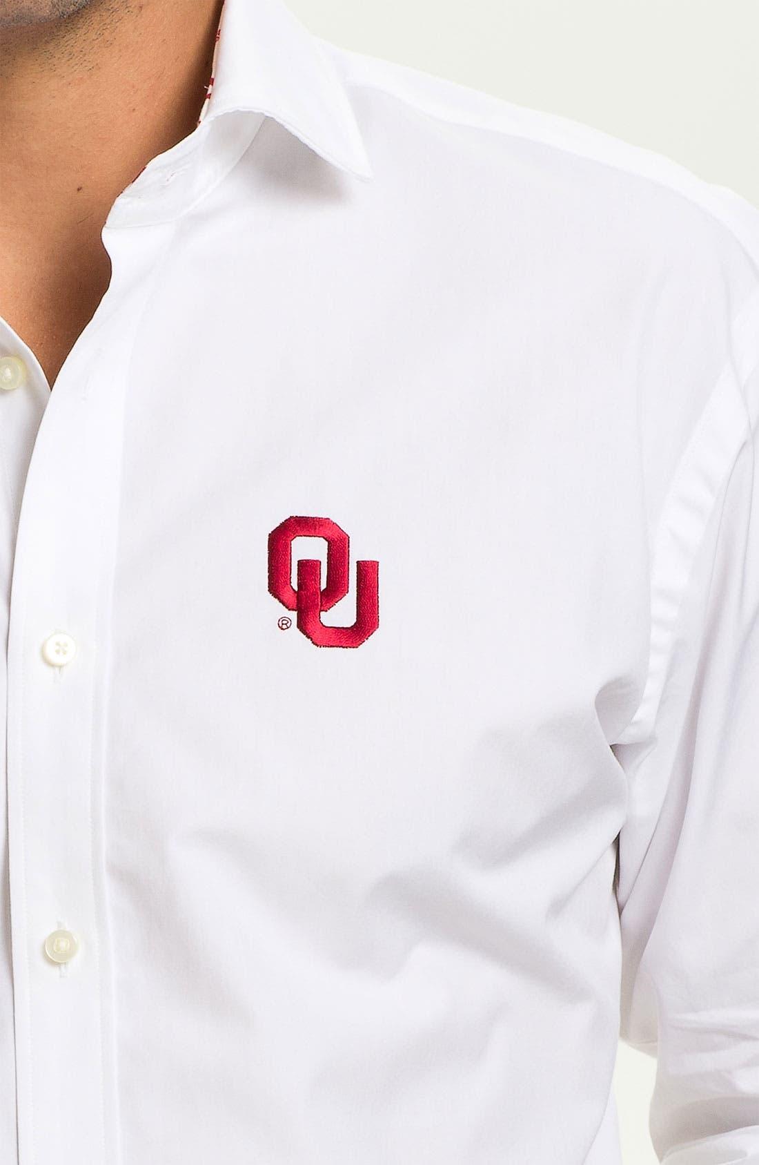 Alternate Image 3  - Thomas Dean 'University of Oklahoma' Sport Shirt