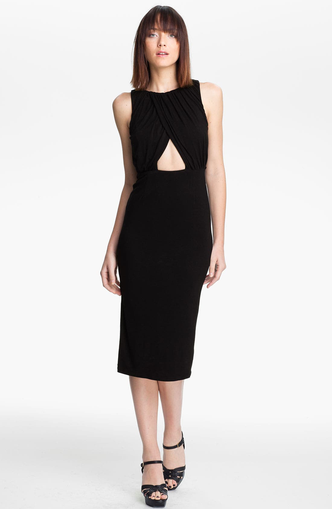 Alternate Image 1 Selected - Mara Hoffman Fitted Keyhole Dress
