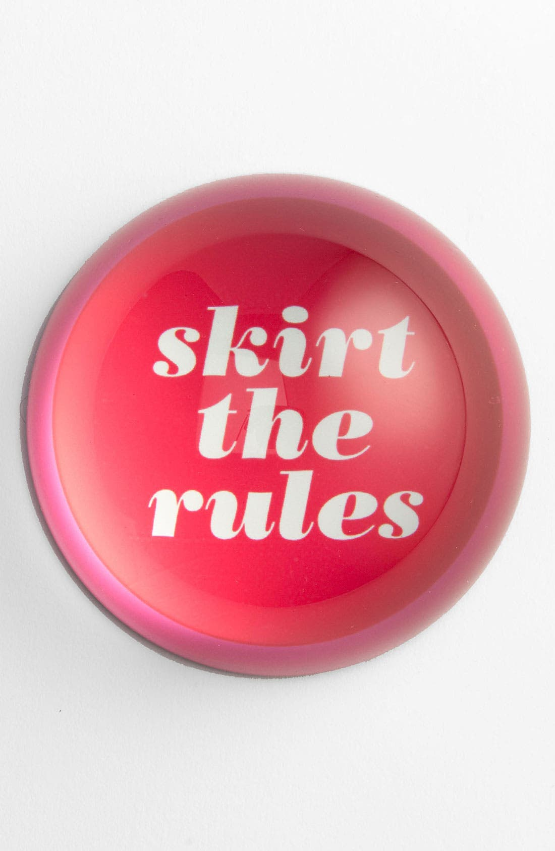 Alternate Image 1 Selected - kate spade new york 'skirt the rules' paperweight