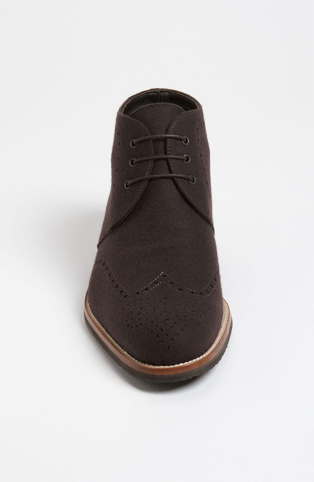 Alternate Image 3  - Thomas Dean Wool Wingtip Chukka Boot