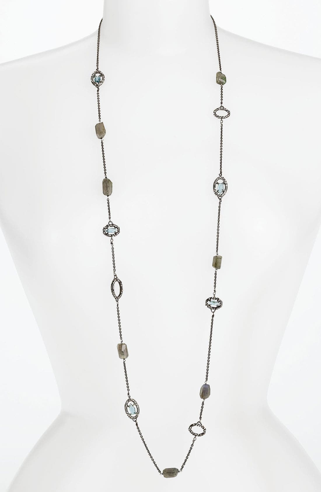 Main Image - Alexis Bittar 'Miss Havisham - Deco' Long Station Necklace (Nordstrom Exclusive)