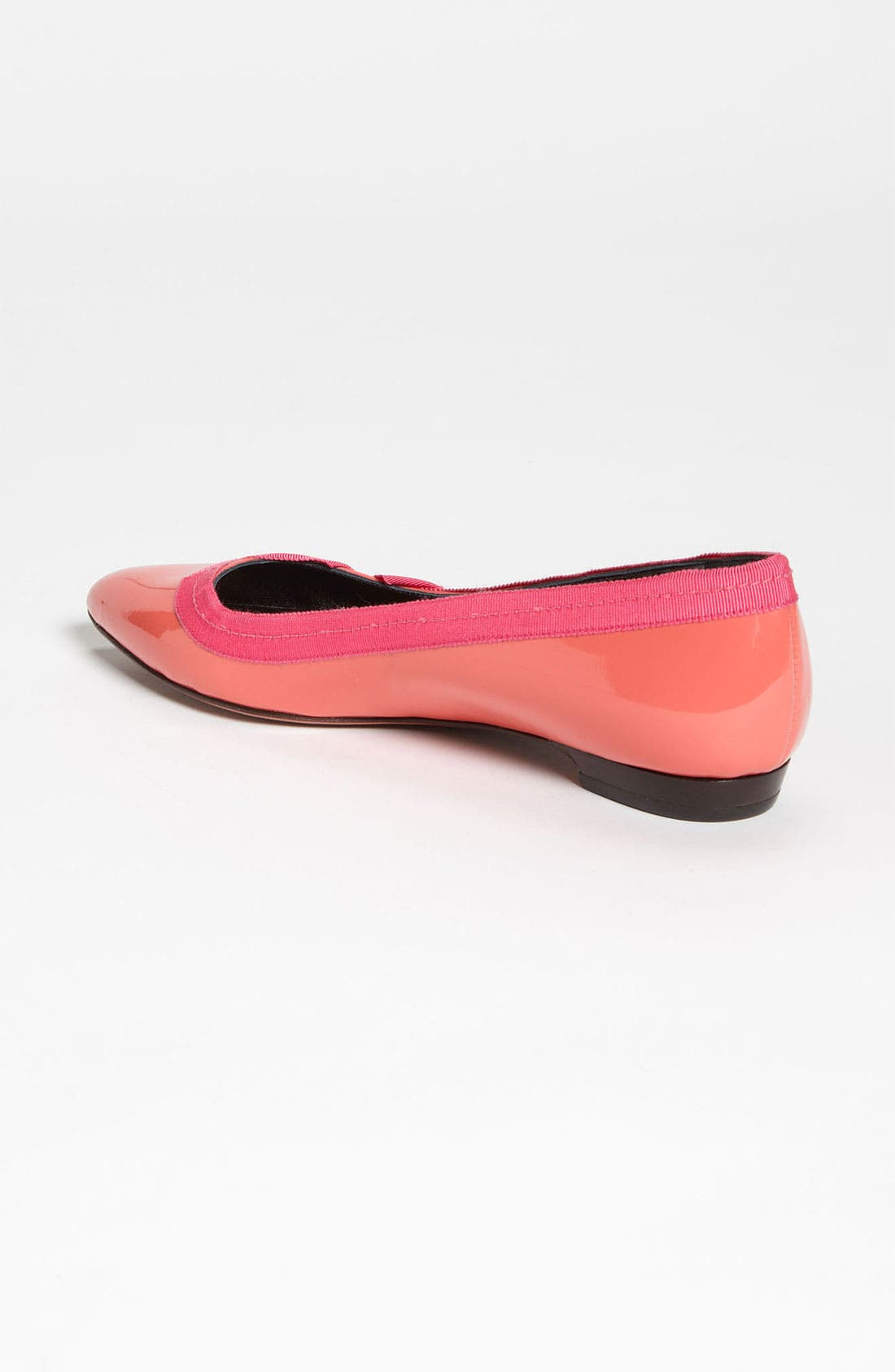 Alternate Image 2  - Lanvin Pointy Toe Grosgrain Flat