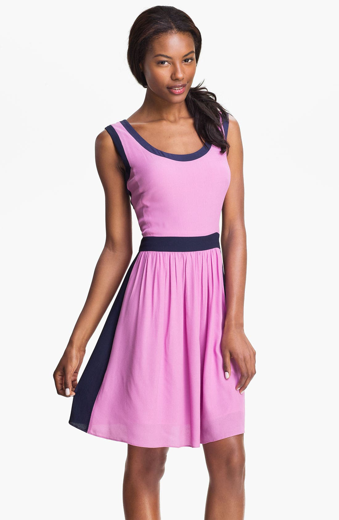 Main Image - Lilly Pulitzer® 'Irene' Contrast Panel Dress