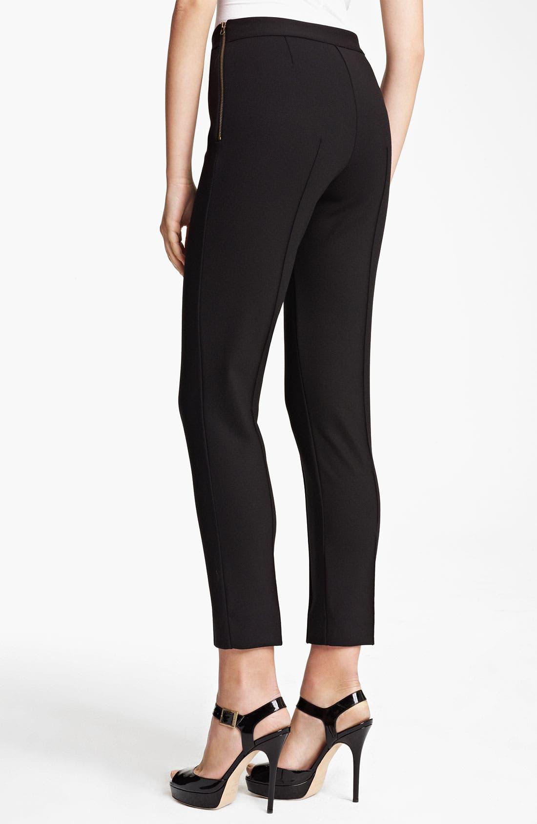 Alternate Image 2  - Moschino Cheap & Chic Stretch Jersey Knit Pants