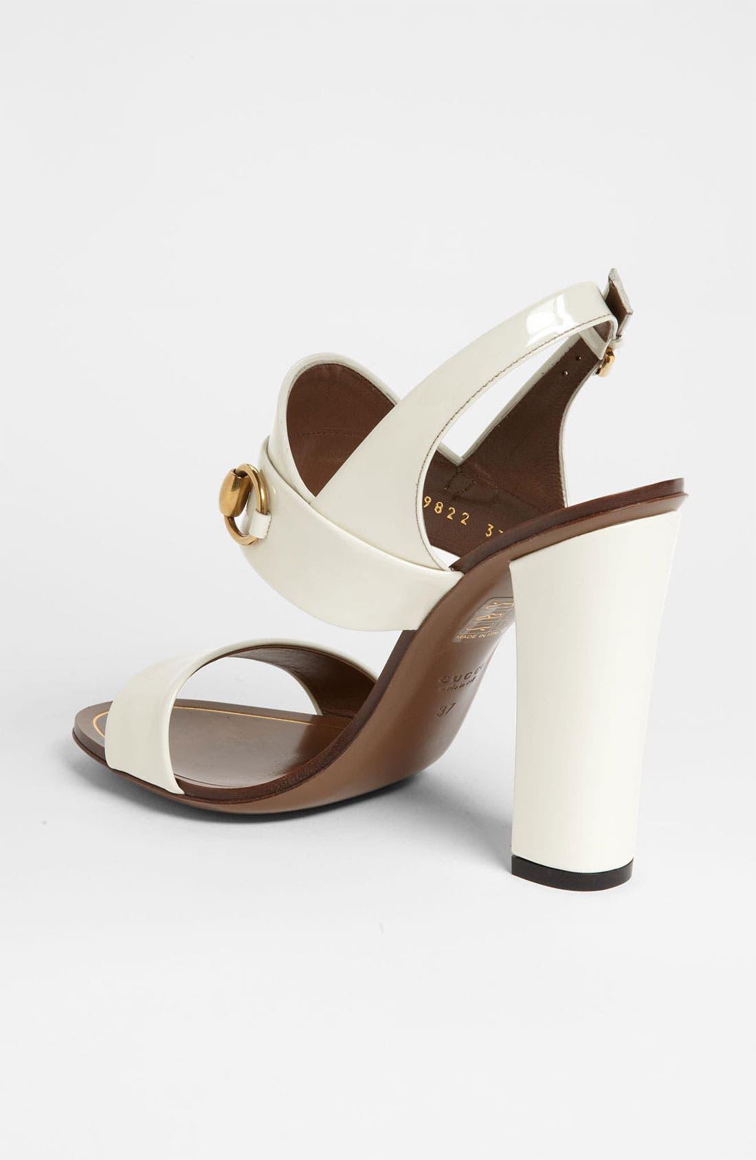 Alternate Image 2  - Gucci 'Alyssa' Sandal