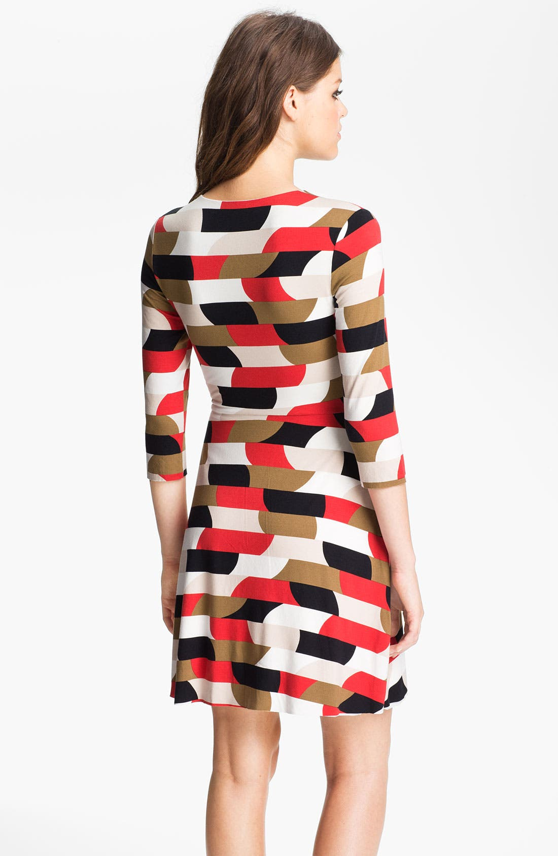Alternate Image 2  - B44 Dressed by Bailey 44 Geometric Stripe Jersey Surplice Dress