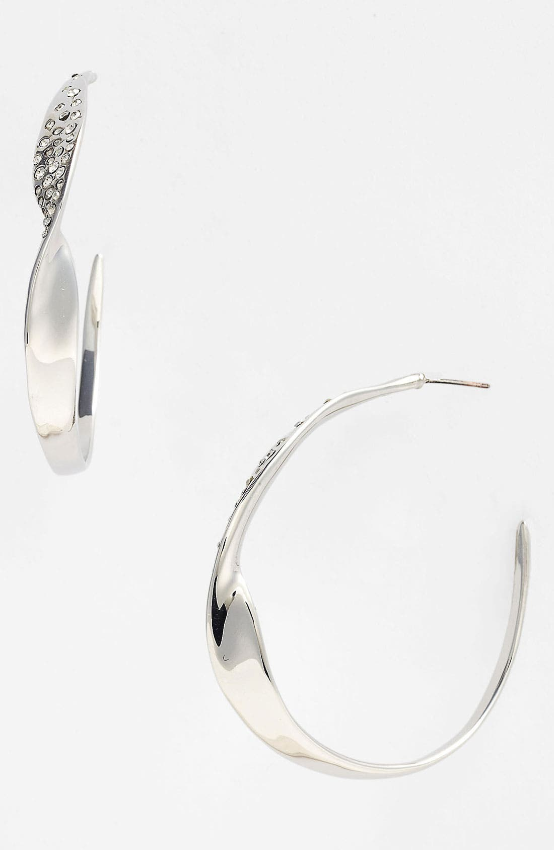 Alternate Image 1 Selected - Alexis Bittar 'Miss Havisham - Bel Air' Twisted Hoop Earrings