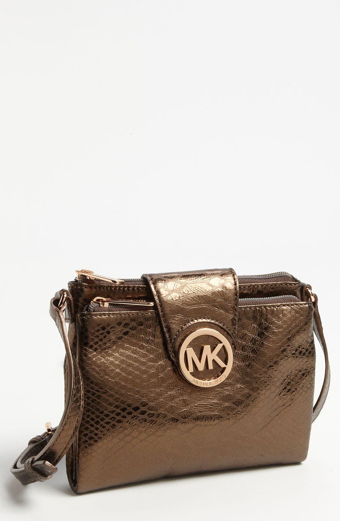 Alternate Image 1 Selected - MICHAEL Michael Kors 'Fulton - Large' Crossbody Bag