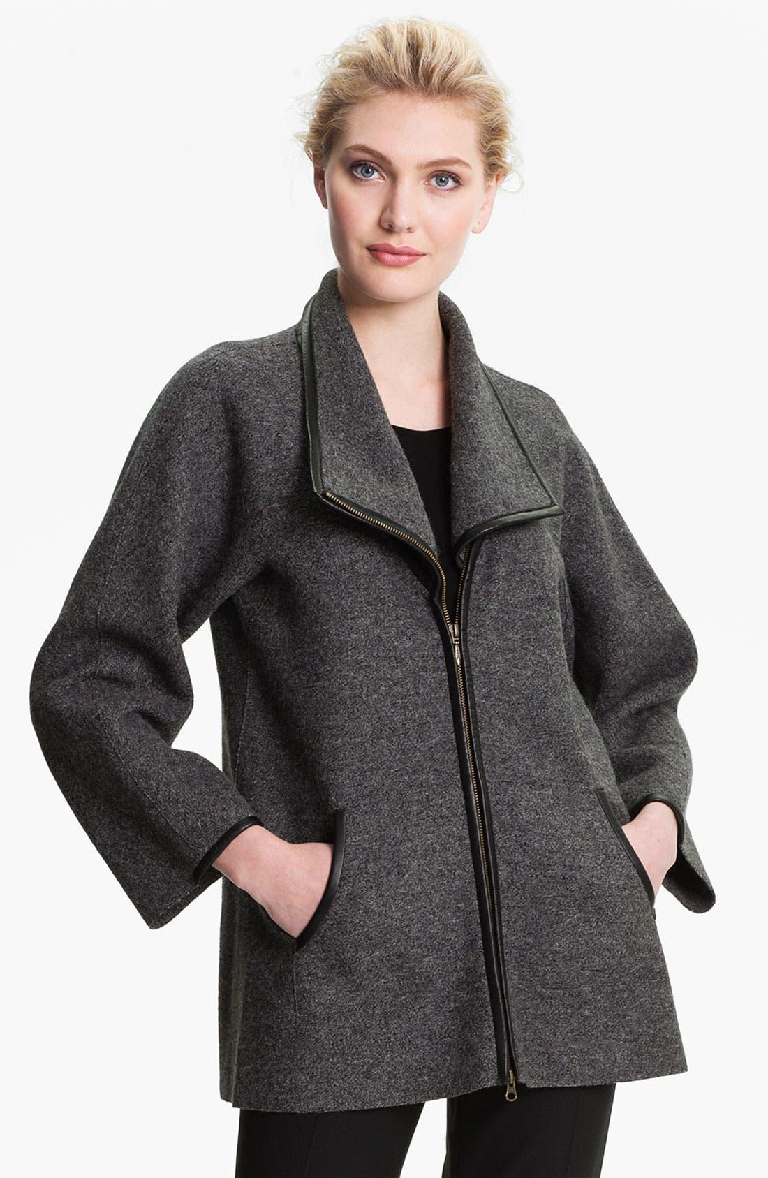 Main Image - Beyond Threads 'Corina' Alpaca Blend Jacket
