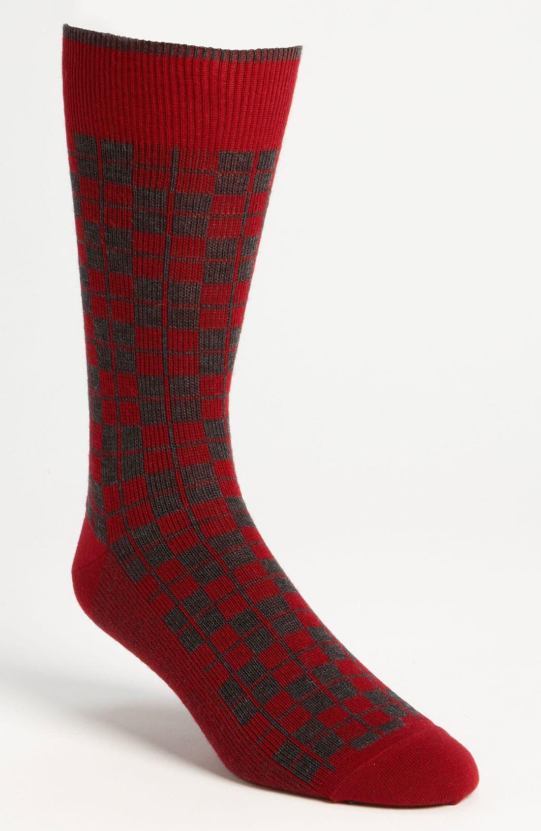 Main Image - Marcoliani 'Jacquard' Tartan Socks
