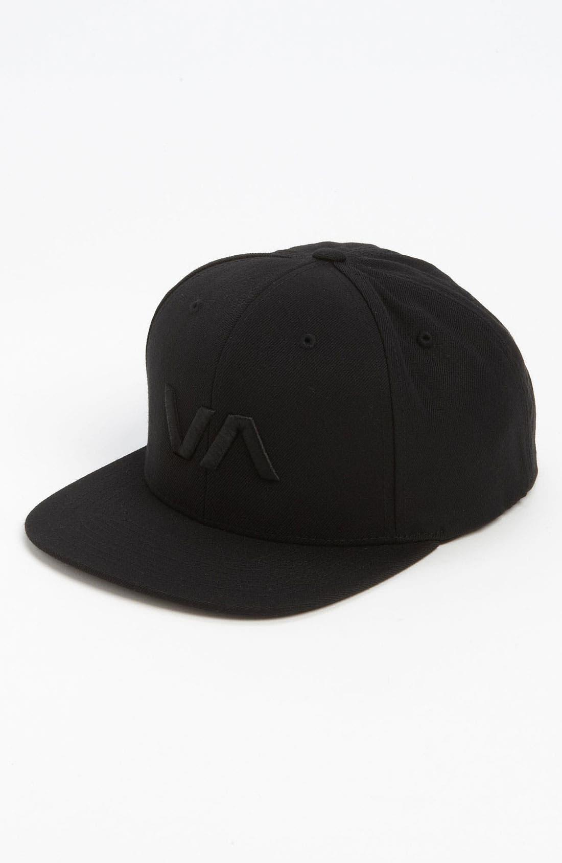 Alternate Image 1 Selected - RVCA 'VA Starter' Snapback Baseball Cap