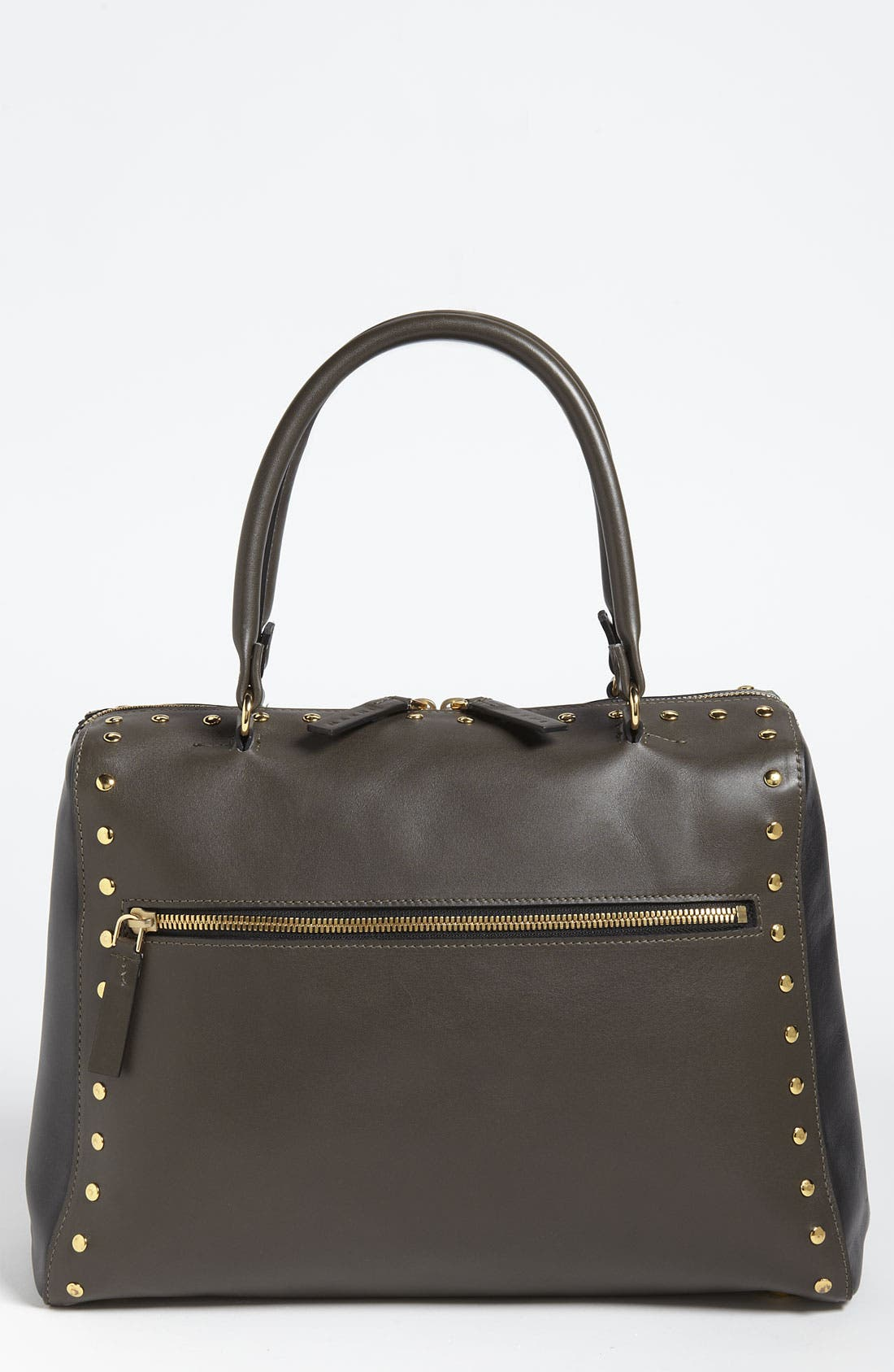 Alternate Image 1 Selected - Marni Studded Leather Satchel